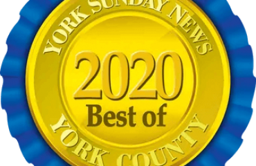 2020 Best of York County Ribbon