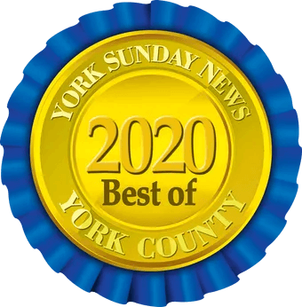 2020 Best of York County Ribbon