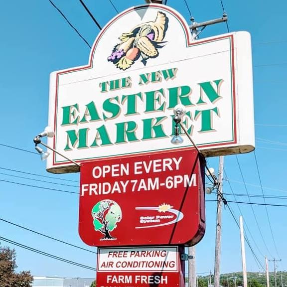 New Eastern Market sign