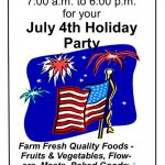 New Eastern Market York, PA July 4th 2021 Hours July 2nd 7 AM to 6 PM